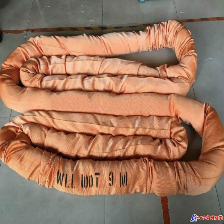 Heavy Duty Polyester Feather Lifting Endless Round